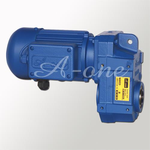 Parallel shaft gear motor Brand:A-one
